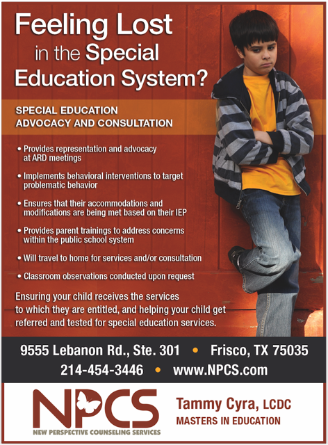 The Role Of Special Education Advocate >> Tammy Cyra M Ed Lcdc Special Education Advocate Frisco Texas